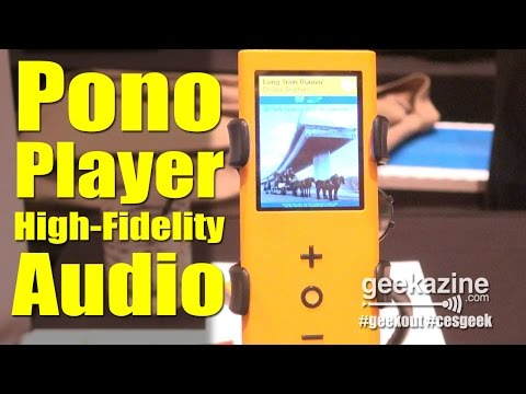 Neil Young's Pono Player: Hi-Fi Audio - CES 2015