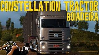 BOIADEIRA NO GOIAS - CONSTELLATION TRACTOR 26-420 - EURO TRUCK 2 MODS - G27!!!