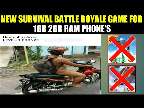 New best survival Battle Royale game for | 1gb 2gb Ram