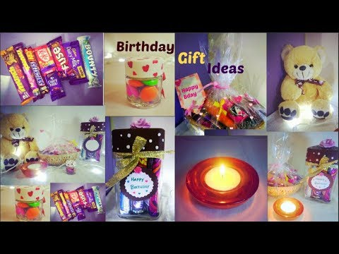 DIY Birthday gift ideas for girls