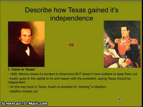 """Chapter 9 3 """"Expansion Of Texas"""""""