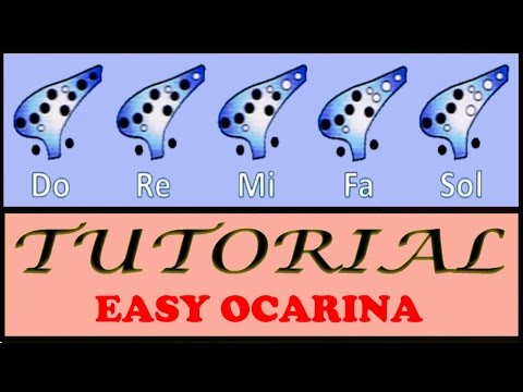 5 Very Easy Songs on Ocarina Tutorial