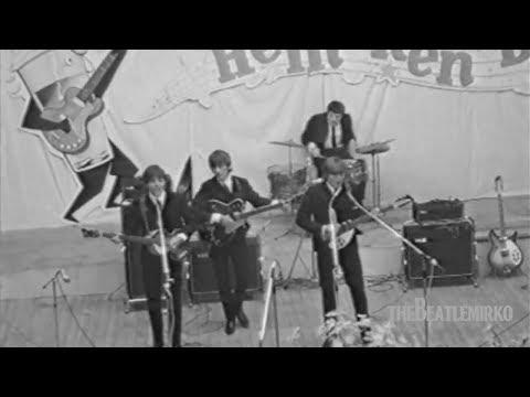 The Beatles performance at Blokker, Netherlands