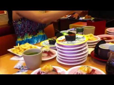 Di an sushi o Japan