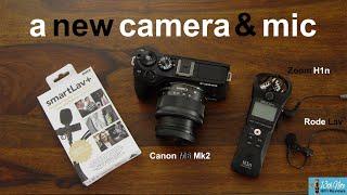A New Canon M6 Mk2 Camera & Rode Smart Lav + Microphone