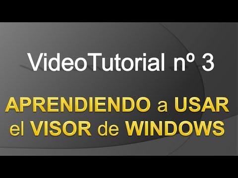 TPI - Videotutorial nº 3 - Cómo usar el Visor de eventos de Windows 7