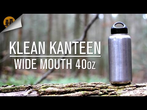 Klean Kanteen 40oz Wide Mouth | Stainless Steel Water Bottle | Field Review
