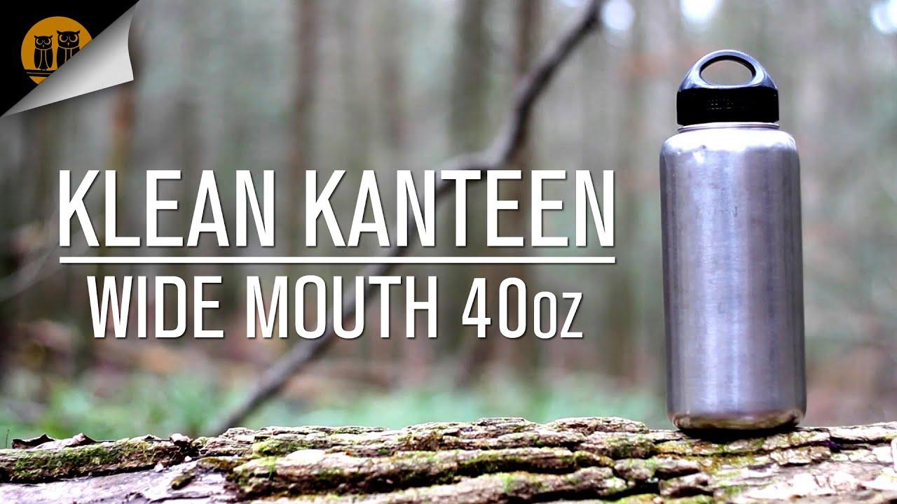 Klean Kanteen 40oz Wide Mouth