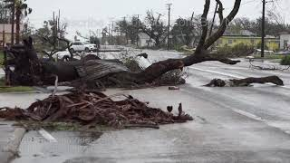 Rockport, TX After Hurricane Harvey Showing What Happened - 8/26/2017