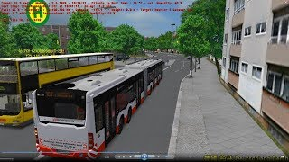 Omsi 2 tour (1599) 德國 Berlin linie 160 S Staaken - Heerstr./Gatowerstr @ MB CAPACITY 4-ACHSER 21m