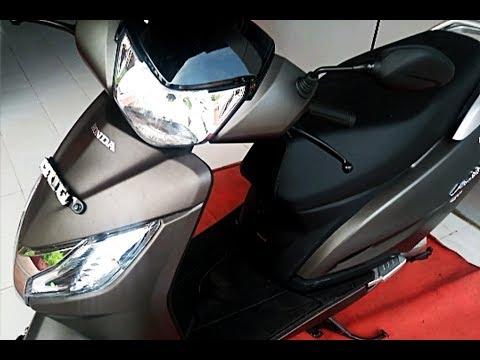 2017 Honda Activa 125 BS4 Mat Crust Metallic Complete Review including price, engine, features
