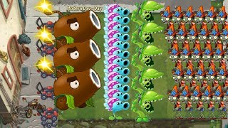 Plants vs Zombies 2 - Coconut Cannon, Snow Pea and Snap Pea