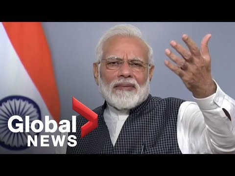 India's Prime Minister Modi addresses escalating tensions over Kashmir