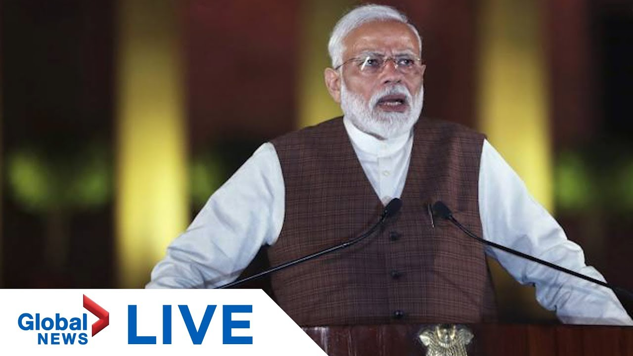 India's Prime Minister Modi to address situation in Kashmir | LIVE