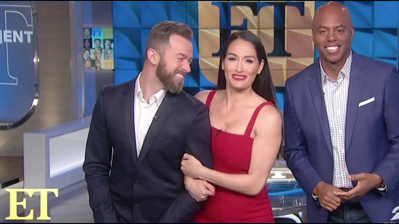 Nikki Bella and Artem Chigvintsev ET Show segments 02/12/2020