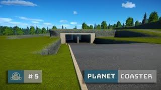 Planet Coaster: Ep. 5: Rebuild: Terraforming and Tunnel Entrance