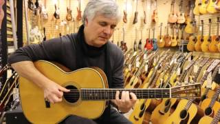 Laurence Juber playing a 1928 Martin 000-45 here at Norman's Rare Guitars