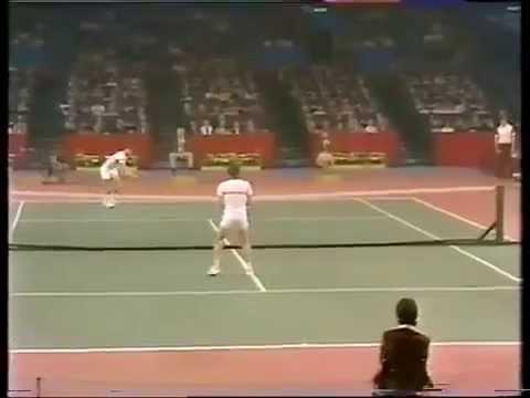 Jimmy Connors vs McEnroe Final - Wembley 1981