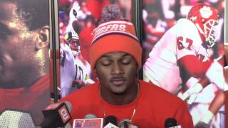TigerNet - Deshaun Watson talks about what he is thankful for this Thanksgiving