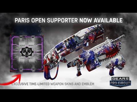 ABRIENDO LOS NUEVOS PACK'S ESPORTS PARIS | Gears of war 4