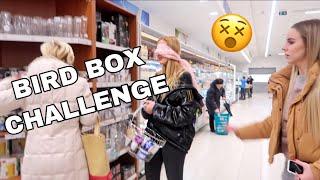 BIRD BOX CHALLENGE | IZBACENA SAM IZ PRODAVNICE
