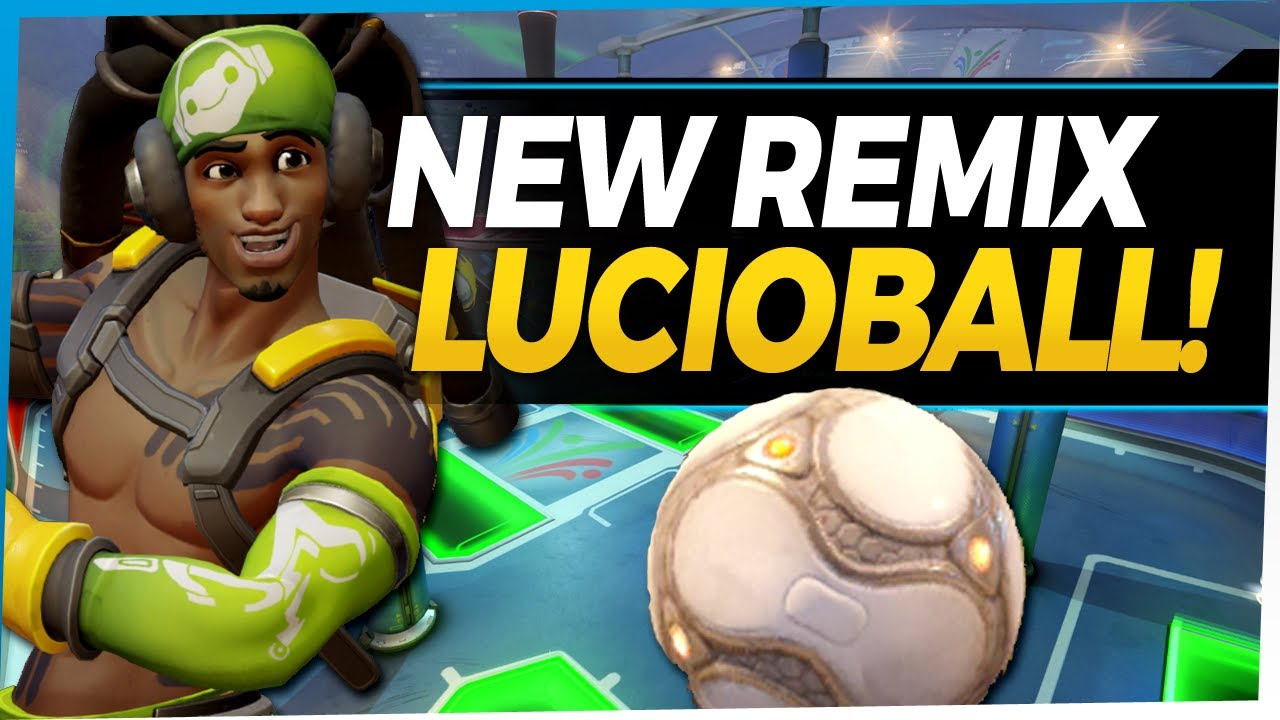 Overwatch NEW Lucioball Remix is FUN! - Overwatch Summer Games