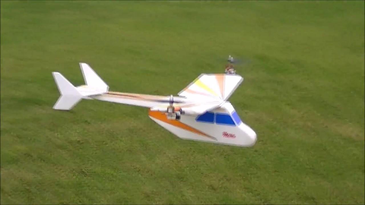 Own Design VTOL RC Model (Nemo)