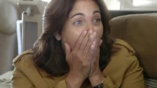 Cristiana Reali découvre sa destination - Rendez-vous en terre inconnue