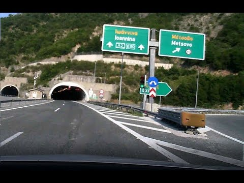 Driving from Belgrade to Lefkada (Time Lapse)