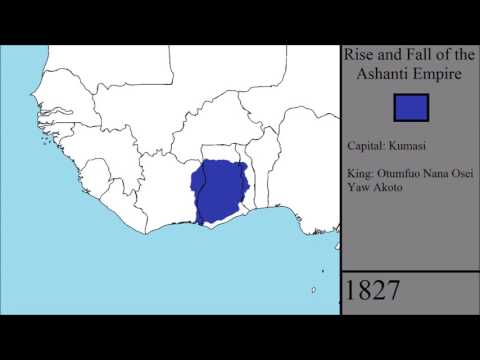 The Rise and Fall of the Ashanti Empire