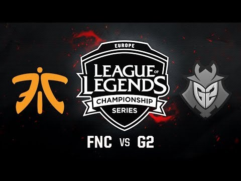 FNC vs. G2 - Week 10 Game 1 | EU LCS Summer Split | Fnatic vs. G2 Esports (2017)