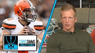 Odell Beckham Jr. can cover mistakes by Baker Mayfield | Chris Simms Unbuttoned | NBC Sports