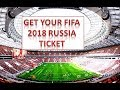 World Cup 2018 tickets- How to buy, how to apply and how much they cost l fifa 2018 news latest