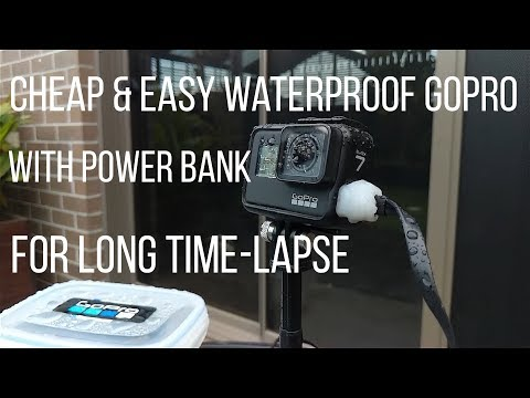 GoPro Hero 7 Black   Waterproof Your GoPro & Battery Pack for LONG Time-Lapse (2019)