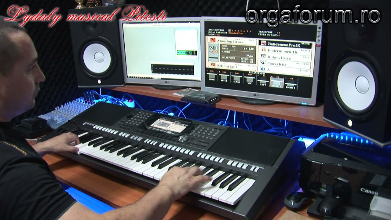 demo yamaha psr s970 unofficial iulik youtube. Black Bedroom Furniture Sets. Home Design Ideas