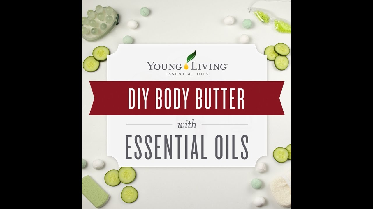 DIY Homemade Body Butter Recipe | Young