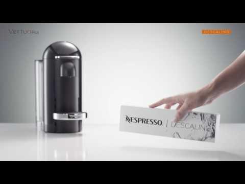 Nespresso VertuoPlus: How To - Descaling