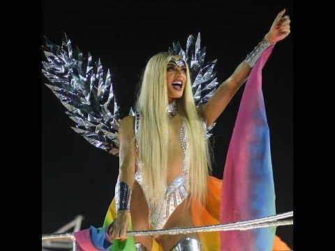 Pabllo Vittar    Desfile Beija Flor carnaval 2018 - Destaque intolerância de Gênero