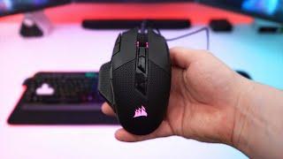 Corsair NightSword RGB Gaming Mouse Review!