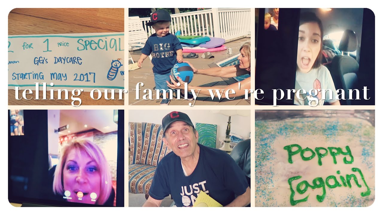 telling our family were pregnant – Baby Announcement Ideas to Family