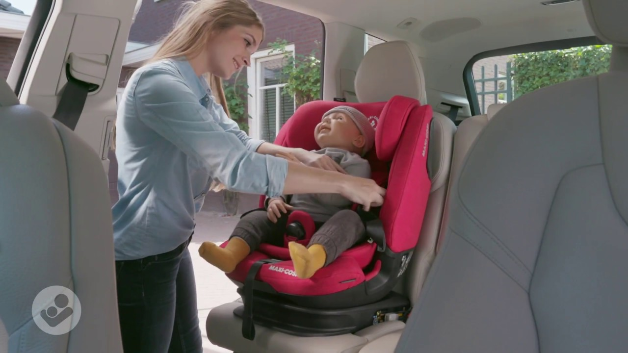 Maxi Cosi Titan Pro Car Seat How To Buckle Up Recline Youtube