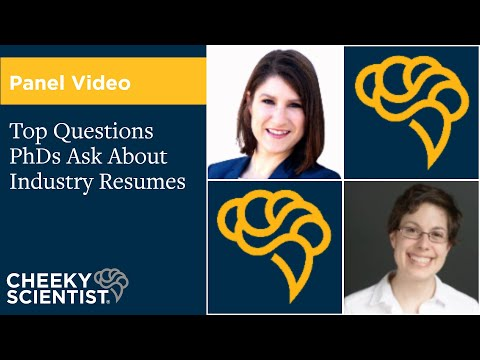 Top Questions PhDs Ask About Industry Resumes