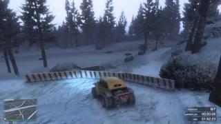 Grand Theft Auto V Online My Jobs - MotorStorm Arctic Edge