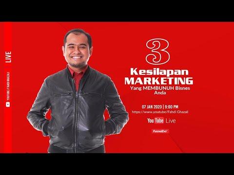 3 Kesilapan Marketing Yang Membunuh Bisnes 2020