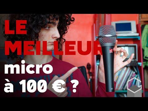 LE MEILLEUR micro pour streameur A 100€ ?!! | Présentation du sE Electronics V7