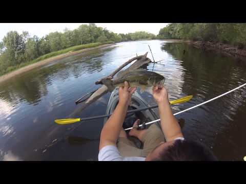 Kayak Fishing Out Of The Old Town Vapor Angler
