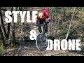 DRONE & STYLE sur nos HOME TRAILS - Downhill MTB EDIT