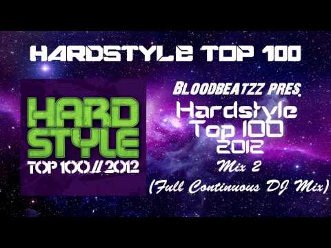 Hardstyle Top 100 2012 CD-2 (Full Continuous DJ Mix)