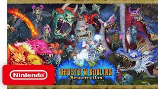 Ghosts 'n Goblins Resurrection - Announcement Trailer - Nintendo Switch
