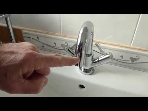 How to clean the filter in your taps spout.